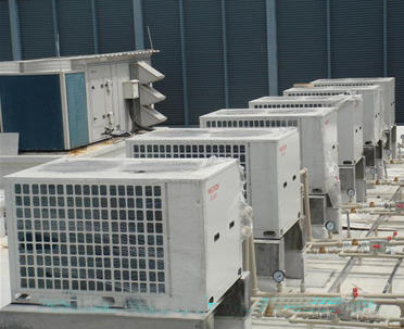 空气能热水器工程案例