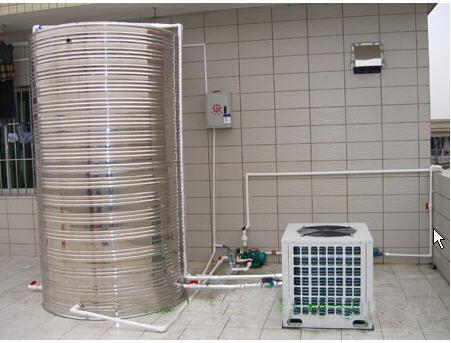 空气能热水器工程案例: