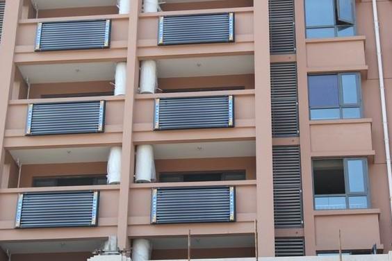 如皋金茂国际400台阳台壁挂太阳能 - 太阳能热水器,能